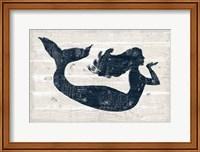 Driftwood Coast IX Blue Fine-Art Print
