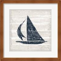 Driftwood Coast II Blue Fine-Art Print