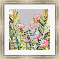 Blushing Wildflowers I Fine-Art Print