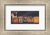 Santa Blocks Fine-Art Print