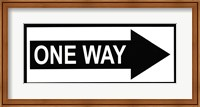 Sign - One Way Fine-Art Print