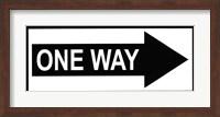Sign - One Way Fine-Art Print