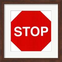 Sign - Stop Fine-Art Print