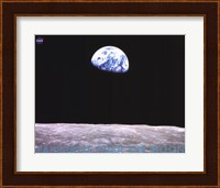 Earthrise Over the Moon Fine-Art Print