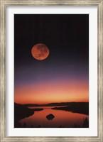Lake Tahoe At Night Wall Poster