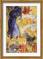 Les Amoureux Wall Poster