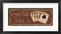 Royal Flush Takes All Fine-Art Print