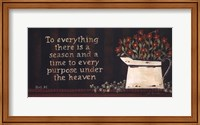 to Everything Fine-Art Print
