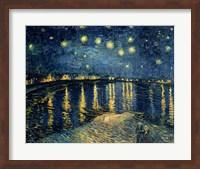Starry Night over the Rhone, c.1888 Fine-Art Print