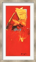 Triptyque Rouge III Fine-Art Print