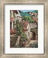 Italian Country Village I Fine-Art Print
