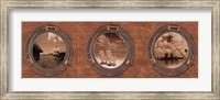 Portholes to the World Fine-Art Print