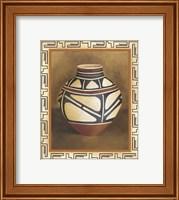 Southwest Pottery I Fine-Art Print