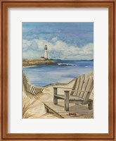 Lighthouse View I Fine-Art Print
