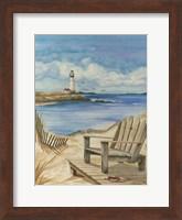 Lighthouse View I Fine-Art Print