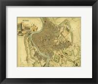 Map of Rome Fine-Art Print