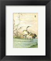 Oriental Cranes II Fine-Art Print