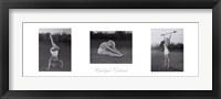 Marilyn's Workout (triptych) Fine-Art Print