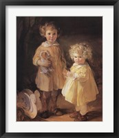 Two Little Sisters Fine-Art Print