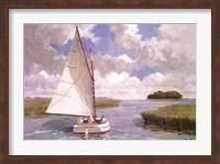 Catboat Through the Marsh Fine-Art Print