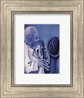 Blue Jazzman II Fine-Art Print
