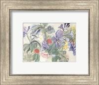 Coquelicotis et Iris Fine-Art Print