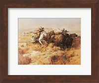 Indian Buffalo Hunt Fine-Art Print