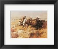 Indian Buffalo Hunt Fine-Art Print