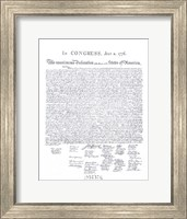 Declaration of Independence Fine-Art Print