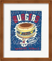 Burgers Fine-Art Print