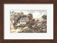 American Homestead Summer Fine-Art Print