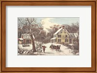 American Homestead Winter Fine-Art Print
