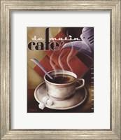 Cafe de Matin Fine-Art Print