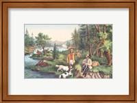 Hunting Fishing & Forest Scenes Fine-Art Print