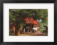 Horse and Buggy Days Fine-Art Print