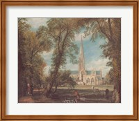 Salisbury Cathedral from the Bishops' Grounds Fine-Art Print