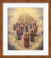 Gospel Choir of Angels Fine-Art Print