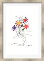Bouquet with Hands Fine-Art Print