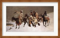 Return of the Blackfoot War Party Fine-Art Print