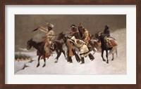 Return of the Blackfoot War Party Fine-Art Print