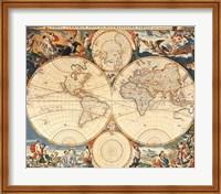 World Map Fine-Art Print
