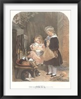 Children and Rabbits Fine-Art Print