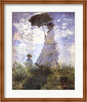 Madame Monet and Her Son Fine-Art Print