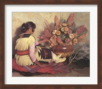 Crucita, a Taos Indian Girl Fine-Art Print
