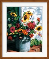 Freshly Cut Flowers Fine-Art Print