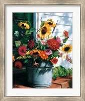 Freshly Cut Flowers Fine-Art Print