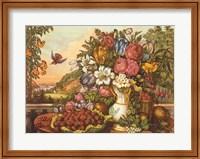 Landscape, Fruit and Flowers Fine-Art Print