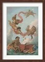 Cherubs Studying Fine-Art Print