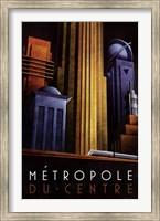 Metropole du Centre Fine-Art Print