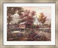 Razzberry Creek Crossing Fine-Art Print